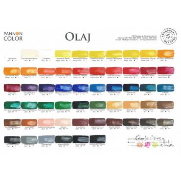 Pannoncolor olajfesték -  INDIAISÁRGA 804 22ml