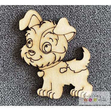 Natúr fa figura - fiú kutyus