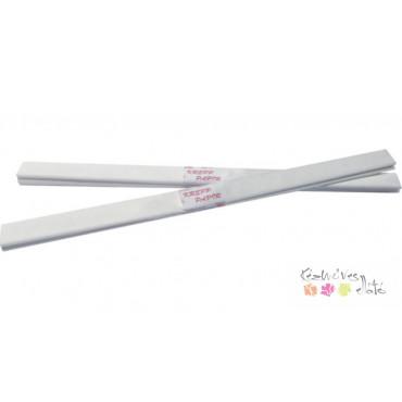 Krepp papír, tekercses 50x200cm - fehér